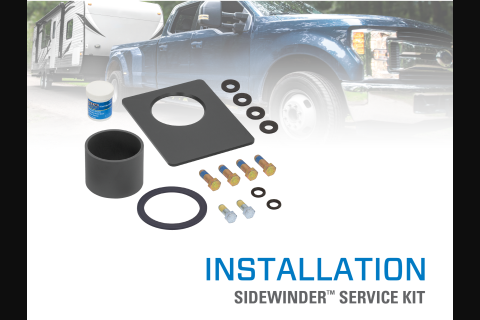 Product Install & Proper Use: Reese® Sidewinder™ and Elite™ Airborne/Sidewinder™ Combo Service Kits