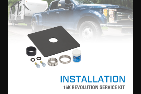 Product Install & Proper Use: 16K Reese® Revolution Service Kit