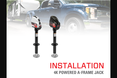 Product Install & Proper Use: BULLDOG® 4K Powered A-Frame Jack